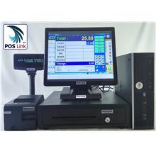 POS System - HP i3 +17'Touch Screen POS Economic PC Set