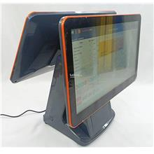 "FnB Retail All in one Touch POS PC 15.6"" + 15.6"" Dual Screen"
