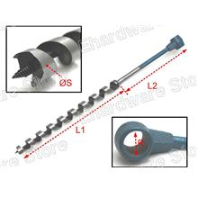 Extra Long Pole Ring Manual Auger Wood Drill Bits (5010G)
