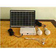 10 watt Solar panels home lighting Package ,Pasar malam , camping