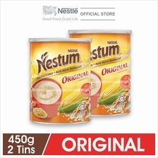 NESTLE NESTUM All Family Cereal Original Tin 450g x2packs