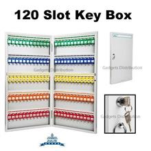 JieLiSi 120 Slot Hook Position Metal Key Keys Box Storage 2479.1