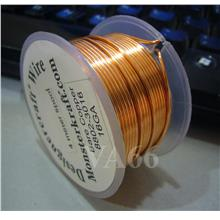 DIY 4 meters Copper Designer Bare Copper Craft Wire 18 Gauge 1.0mm