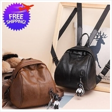 Women Western Design Soft PU Leather Small BackPack Bag