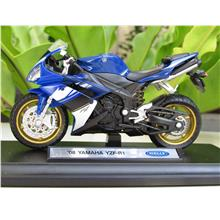 Welly 1 18 Diecast Motorcycle Yamaha Yzf R1 2008