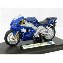 Welly 1 18 Diecast Motorcycle Yamaha Yzf R1 1999