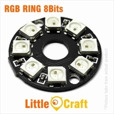 RGB LED Ring 8x WS2812 5050 NeoPixel Module