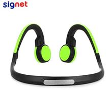 SIGNET BT - BK BLUETOOTH 4.1 BONE CONDUCTION HEADPHONES (GREEN)