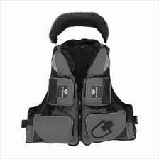 Professional Fishing Polyester Adult Safety Life Jacket Survival Vest Swimming