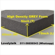 5 inch High Density Grey Cushion Sponge Sofa Foam Mattress Material Sp