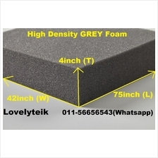 4 inch High Density Grey Mattress Foam Sofa Sponge Mattress Cushion Ma