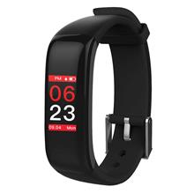 P1 PLUS Touch Button Smart Sport Bracelet (black)