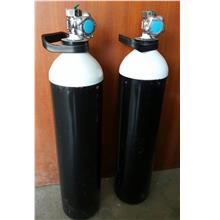 10 Litre Medical Oxygen Seamless Steel Cylinder