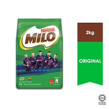 NESTLE MILO ACTIV-GO CHOCOLATE MALT POWDER Softpack 2kg - Barcelona)