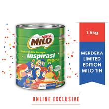 NESTLE MILOⓇ ACTIV-GO CHOCOLATE MALT POWDER Tin 1.5kg-Merdeka Edition)