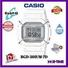 CASIO BABY-G ORIGINAL BGD-501UM-7D DIGITAL LADY SPORT WATCH BGD-501UM