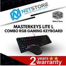 COOLER MASTER MASTERKEYS LITE L COMBO RGB GAMING KEYBOARD MOUSE COMBO