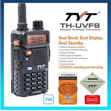 TYT ✨ UVF8 Dual Band Walkie Talkie Amateur Handheld Transceiver