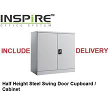 Half Height Steel Swing Door Cupboard | Cabinet