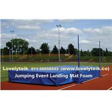 5' High Density Sport Safety Cushion High Jump Landing Mat Material