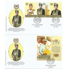 MFDC-20190730SM INST KDYMM SPBY DIPERTUAN AGONG KE16 STAMP & MS ON FDC