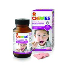 CHEWIES Children Chewable Multivitamin Plus Lysine 60s