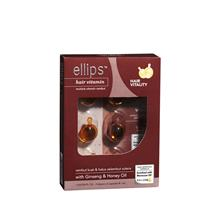 ELLIPS Hair Vitamin With Ginseng Honey Oil 2 x 6s