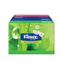 KLEENEX Natural Face Tissues Soft Pack 4 x 50s
