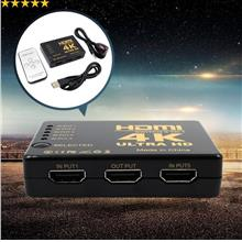 5 Port 4K HDMI Switch Selector Splitter With Hub (HDMI Switcher 2160P)