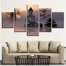 5Pcs Modern Canvas Print Paintings Poster Wall Art Picture Home Decor
