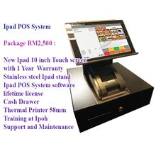 New Ipad 10inch Touch Screen POS System Point of Sales with 1 Year War