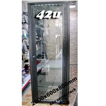 42u Server rack c/w PDU & Fan (New)
