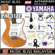Yamaha Pac112j Pacifica Electric Guitar Yellow Natural Satin
