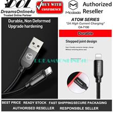 Mcdodo CA-7100 Atom Series Durable Fast Charging Data Cable Lightning