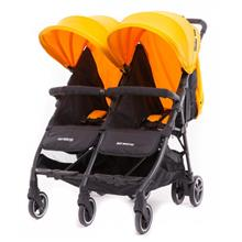 Baby Monsters | Kuki Twin Stroller (Birth to 15kg / each seat) - Mango