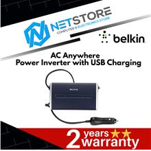 Belkin AC Anywhere Power Inverter with USB Charging 200W-F5L071Ak200W