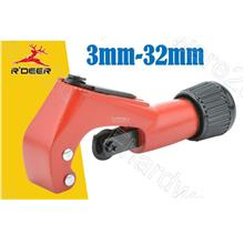 R'Deer Zinc Alloy Quick Tube Cutter With Reamer 3-32mm (GT-Q3)