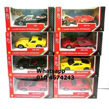 8pcs Set Ferrari Shell V-Power Toy Car Limited Collection
