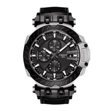 TISSOT T115.427.27.061.00 T-RACE Automatic Chrono anthracite index