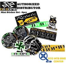 DA BOMB 8 pcs Mini Sticker Set