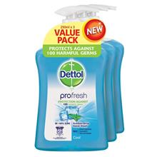 DETTOL Dettol HWash Cool 3X250ML