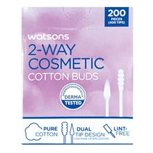 WATSONS 2Way Cosmetic Cotton Buds 200s
