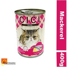 CICI Cat Wet Food Mackerel 12x400g (Buy 12 Free Delivery)