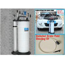 Manual Fluid Oil Extractor With Brake Bleeding Kit 9L (MOE9L)