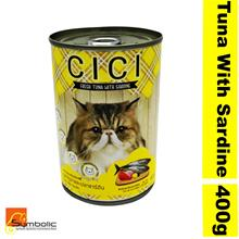CICI Cat Wet Food Tuna With Sardine 12x400g (Buy 12 Free Delivery)