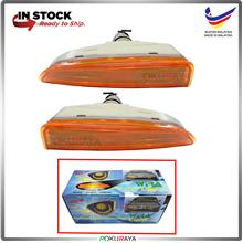 Proton Wira Front Bumper Signal Spot Fog Light Lamp Celah Orange Amber