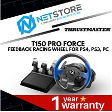 Thrustmaster T150 Pro Force Feedback Racing Wheel for PS4, PS3, PC: Best  Price in Malaysia