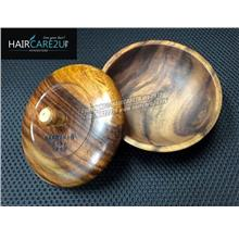 Barber & Co. 5-Star Wooden Shaving Bowl