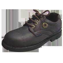 Safety Shoes Black Hammer Men Low Cut Lace Up Brown BH4658