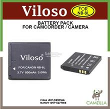 Viloso NB-8L Battery For Canon PowerShot A2200 IS, A3000 IS etc.